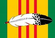 Bandera de Veteranos Nativos de Vietnam