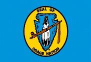 Bandera de Osage