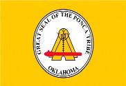 Bandera de Ponca of Oklahoma