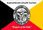 Bandeira do Rampanough Lenape