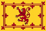Drapeau de la Royal Banner of Scotland