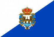 Drapeau de la Province officielle de Pontevedra