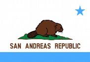 Drapeau de la San Andreas Republic