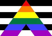 Flag of Straight Ally