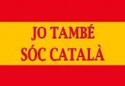 Drapeau de la Espagne català personnalisé