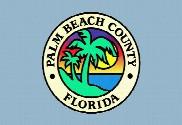 Bandiera di Condado de Palm Beach