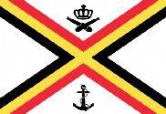 Drapeau de la Naval de Belgique