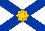 Flag of Naval Jack of Uruguay