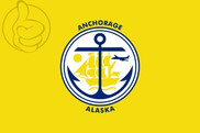 Bandera de Anchorage, Alaska