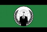 Drapeau de la Anonymous