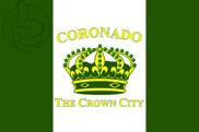 Bandera de Coronado, California