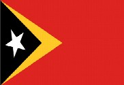 Flag of Timor Oriental