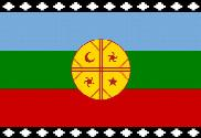 Flag of Pueblo mapuche