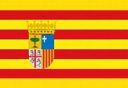 Drapeau de la Aragón
