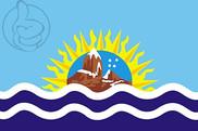 Drapeau de la Provincia de Santa Cruz
