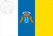 Drapeau de la Canarias C/E