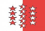 Bandeira do Cantão de Valais