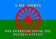 Bandeira do Gypsy 8 de abril
