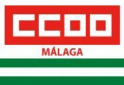 Bandeira do CCOO Málaga