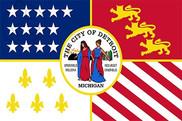 Bandera de Detroit