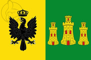 Bandera de Cañete de las Torres