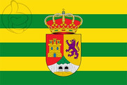 Bandeira do Sierra de Fuentes