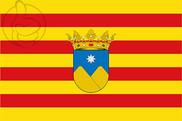 Bandeira do La Vall d\'Ebo