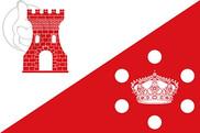 Bandera de Torrejoncillo del Rey