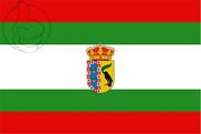 Bandiera di Lucena del Puerto