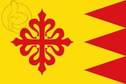 Flag of Puebla de Don Rodrigo