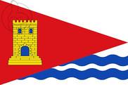 Bandera de Tórtola de Henares