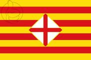 Bandiera di Provincia de Barcelona