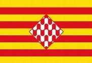 Flag of Provincia de Girona