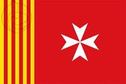 Bandera de Amposta