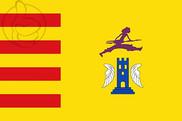 Bandera de Alacón