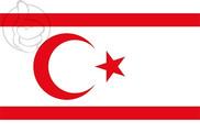Bandiera di República Turca del Norte de Chipre