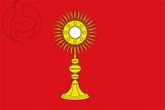 Bandeira do Calonge de Segarra