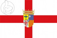 Flag of Provincia de Zaragoza