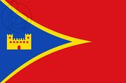 Bandera de Novallas