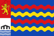 Bandera de La Puebla de Alfindén