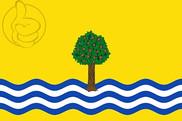 Bandera de Nuez de Ebro