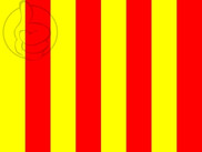 Flag of Flag red and yellow stripes
