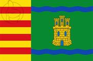 Bandera de Alcolea del Cinca
