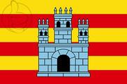 Bandera de Castelló d\'Empúries
