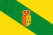 Bandera de Peralta de Alcofea