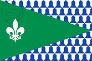 Bandera de Pozán de Vero