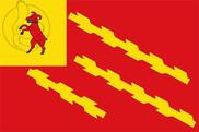 Bandera de Senterada