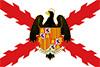 Drapeau de la Croix de Bourgogne et Rois Catholiques Shield