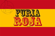 Flag of Furia Roja