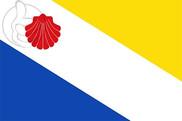 Bandera de Bercianos del Real Camino